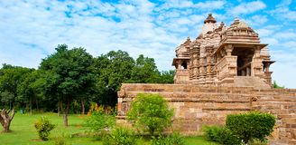 Kandariya Mahadeva寺庙,致力希瓦,西部寺庙o 免版税库存图片