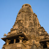 Kandariya Mahadeva Hindu Temple at Khajuraho in the Madhya Pradesh region of India. Royalty Free Stock Photos