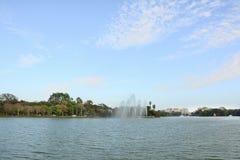 Kandawgyi Nature Park in Yangon Royalty Free Stock Photos