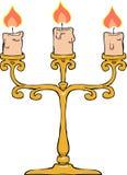 Kandelaar royalty-vrije illustratie