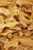 Kanderad frukt som täckas med socker Arkivfoto