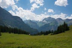 Kandersteg, Швейцария Стоковое фото RF