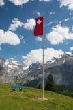 Kandersteg, Швейцария Стоковая Фотография