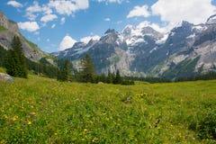 Kandersteg, Швейцария Стоковые Фото