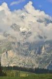 Kandersteg Berner Oberland switzerland lizenzfreie stockbilder
