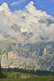 Kandersteg Berner Oberland zwitserland Royalty-vrije Stock Afbeeldingen