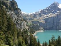 Kandersteg Schweiz Arkivfoto