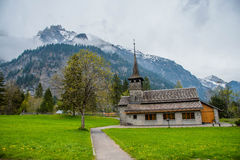 Kandersteg - Schweiz - Schweiz Royaltyfri Foto