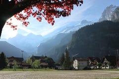 Kandersteg Svizzera Fotografie Stock Libere da Diritti