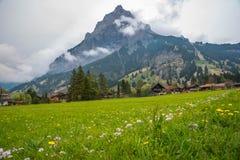 Kandersteg - Zwitserland - Zwitserland Stock Afbeeldingen