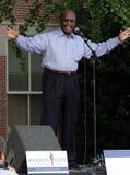 Kandidaat Herman Cain Stock Afbeelding
