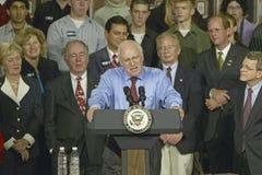 Kandidat Dick Cheney Arkivbild