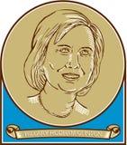 Kandidat 2016 Hillary Clintons Demokrat Stockfoto