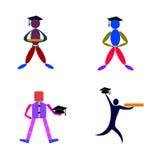 kandidater royaltyfri illustrationer