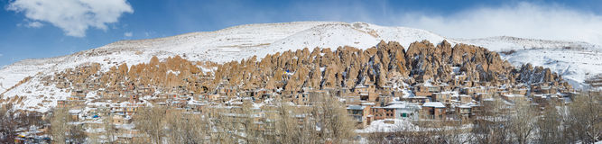 Kandovan vilage near Tabriz, Iran Royalty Free Stock Image