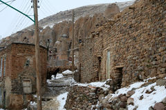 Kandovan village Royalty Free Stock Images
