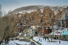Kandovan village Stock Image
