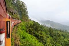 Kandy à viagem de trem de Ella - Sri Lanka imagens de stock royalty free