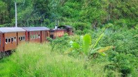 Kandy à viagem de trem de Ella - Sri Lanka fotos de stock