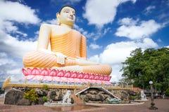 Kandy świątynia buddha statua Zdjęcie Royalty Free