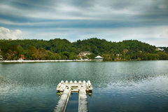 Kandy湖 库存图片