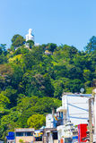 Kandy Bahiravokanda Vihara Buddha Hill Below V Stock Photography