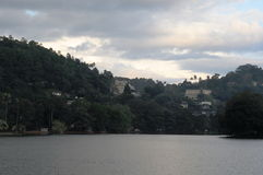 Kandy is a city in the Central part of Sri Lanka, one of the ancient capitals of the island Stock Photo