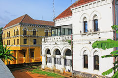 Kandy Colonial Building, Sri Lanka royalty free stock photography