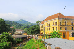 Kandy Colonial Building, Sri Lanka royalty free stock images