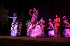 The Kandy dance at a performance in Sri Lanka. 14. December 2017 Stock Images