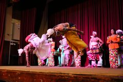 The Kandy dance at a performance in Sri Lanka. 14. December 2017 Stock Photo