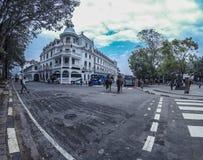 Kandy het hotel van de koningin stock fotografie