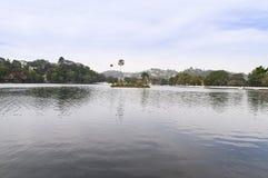 Kandy-Seeblick Stockbild