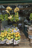 KANDY SRI LANKA - DECEMBER 01: , 2016: Olika grönsaker i veg Royaltyfria Bilder