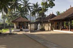 KANDY SRI LANKA - DECEMBER 01: , 2016: Tempel av den sakrala tutet Royaltyfri Foto