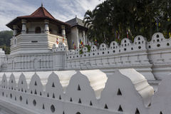 KANDY, SRI LANKA - DECEMBER 01:, 2016: Temple Of The Sacred Toot. H Relic, located in the Royal Palace Complex Of The Former Kingdom Of Kandy, Sri Lanka Royalty Free Stock Image