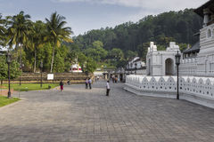 KANDY SRI LANKA, GRUDZIEŃ, - 01: , 2016: Świątynia Święty Tokuje Zdjęcie Royalty Free