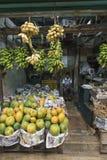 KANDY SRI LANKA, GRUDZIEŃ, - 01: , 2016: Różnorodni warzywa w veg Obrazy Royalty Free