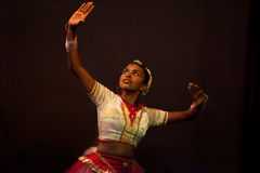 Sri Lankan female dancer Royalty Free Stock Photos