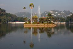 Kandy on Sri Lanka Royalty Free Stock Photography