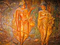 Kandy, Sri Lanka - 2 maggio 2009: Tempio della reliquia sacra del dente Immagine Stock
