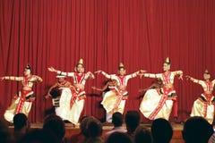 Kandy, Sri Lanka, am 22. Oktober 2011: Kandyan-Tanz-Leistung stockfoto