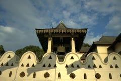 Kandy Sri Lanka - tempel av det srilankesiska klockatornet för tand Royaltyfria Foton