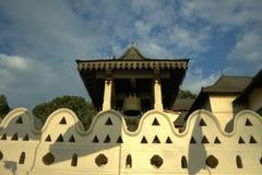Kandy Sri Lanka - tempel av tanden Fotografering för Bildbyråer