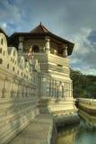 Kandy, Sri Lanka - temple of the tooth Sri Lankan bell tower Stock Image