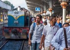 Kandy-Station Sri Lanka lizenzfreie stockbilder
