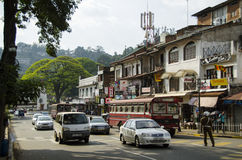 Kandy street Stock Photo