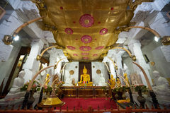 Kandy Temple of the Tooth Relic of Lord Royalty Free Stock Photo