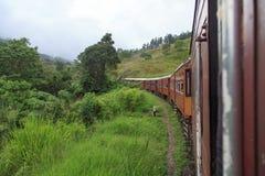 Kandy till den Ella drevresan - Sri Lanka royaltyfri foto