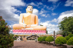 The Kandy-Vihara Temple. The Buddha Statue. Royalty Free Stock Images